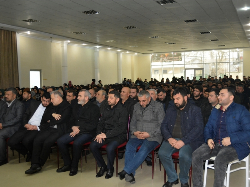 Gürcüstanda möhtəşəm əza mərasimi keçirildi (Foto-Video)