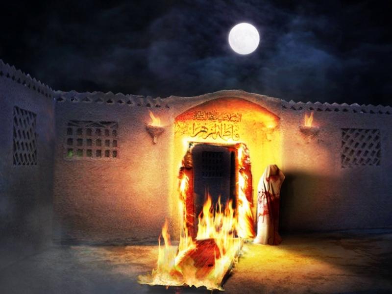 İmam Əlinin (ə) Həzrət Zəhranın (s.ə) məzarında buyurduqları