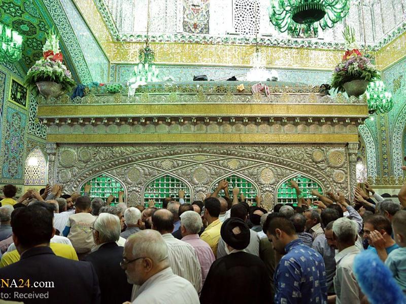 Macarıstanlı qadın İmam Rzanın (ə) hərəmində İslamı qəbul etdi