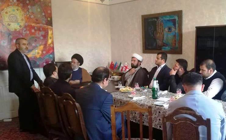 Ayətullah Hüseyn Qəzvini Marneuliyə səfər etdi (Foto)
