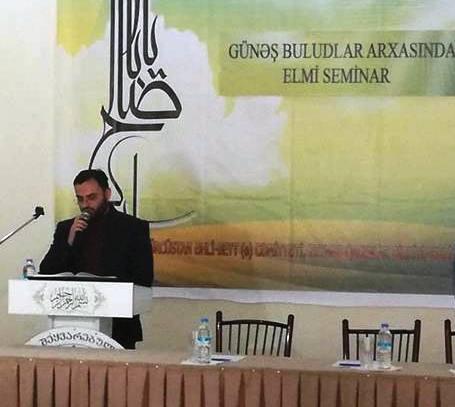 """""""GÜNƏŞ BULUDLAR ARXASINDA"""" adlı elmi seminar keçirildi (Foto)"""