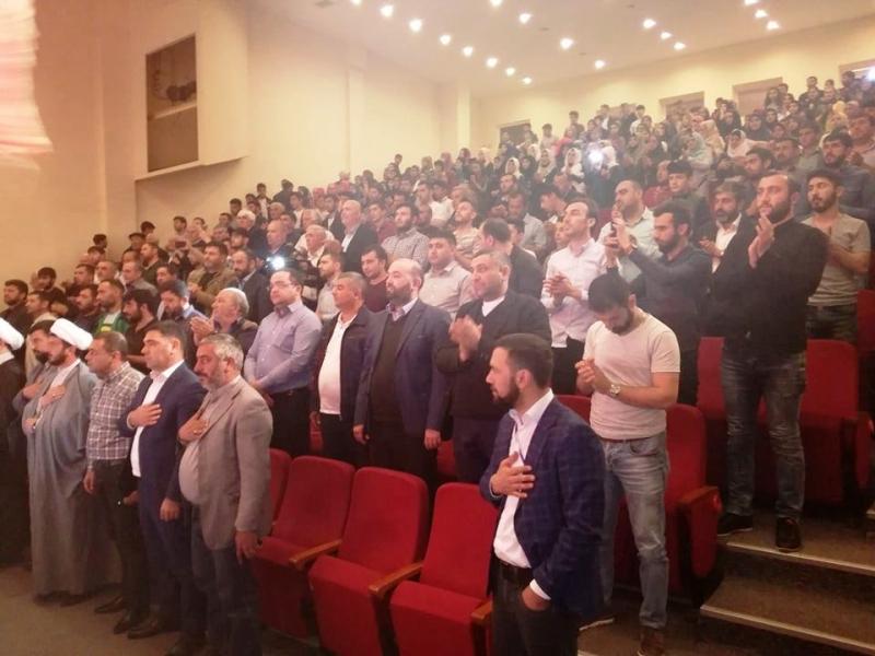 Gürcüstanda İmam Zamanın (ə.f) təvəllüdü möhtəşəm şəkildə keçirildi (Foto-Video)