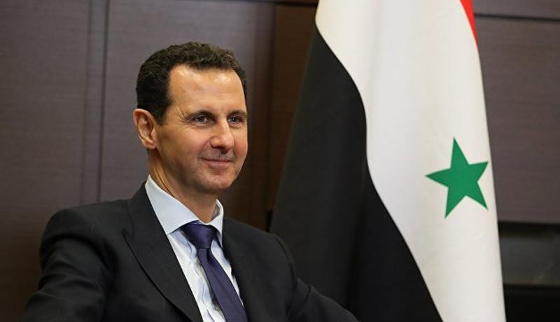 """Əsəd: İndi """"Hizbullah""""-ın Suriyadan çıxarılması haqda söz gedə bilməz!"""