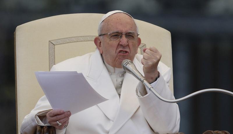 Roma Papası abort edənləri faşistlərə bənzətdi
