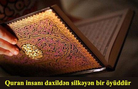 Quran möminlərə şəfadır