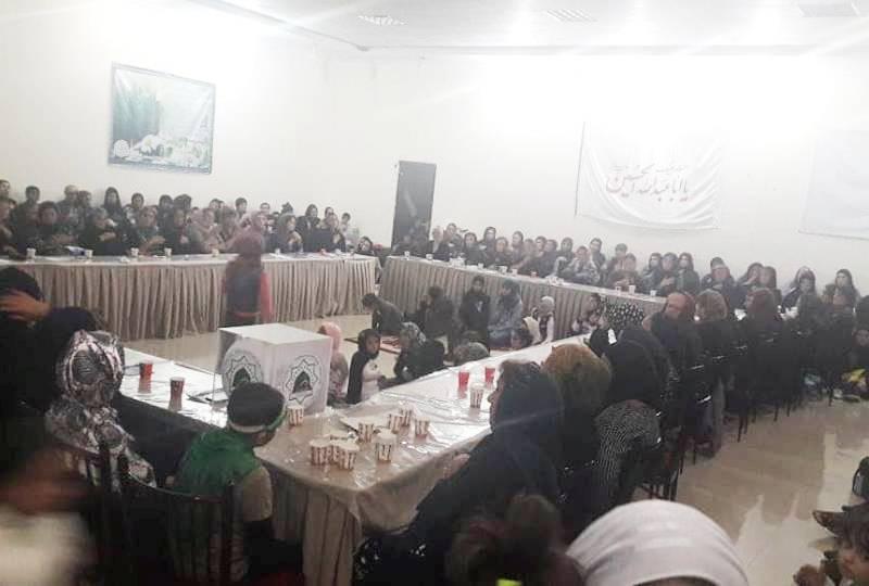 Gürcüstan Əhli-beyt (ə) cəmiyyətində əza mərasimi (Foto-Video)