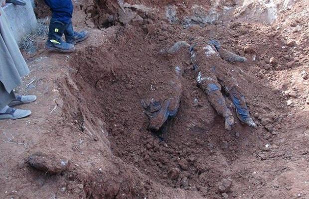 Raqqada İŞİD qurbanlarının 2600 nəfərlik kütləvi məzarı tapıldı