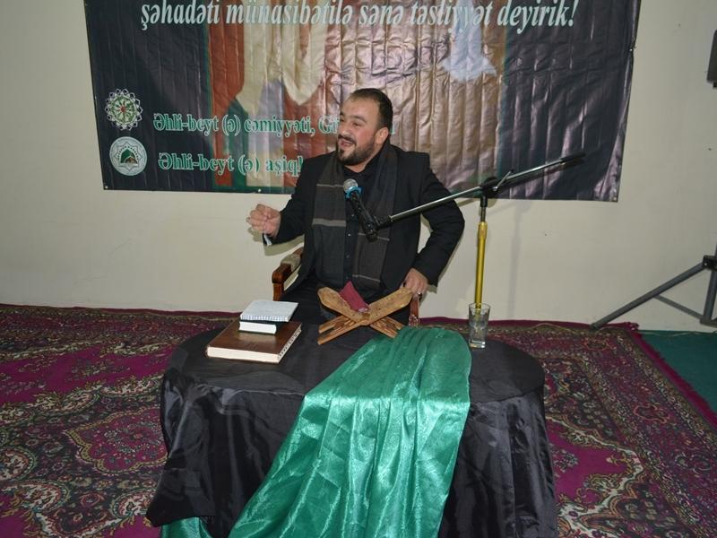 Gürcüstanda matəm mərasimi keçirildi (Foto-Video)