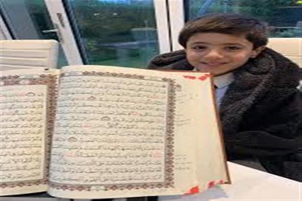 Britaniyalı uşaq bütün Qurani Kərimi hifz etdi