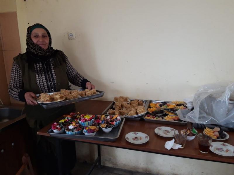 Abdallı kəndində xanımlar Əza saxladılar (Foto)