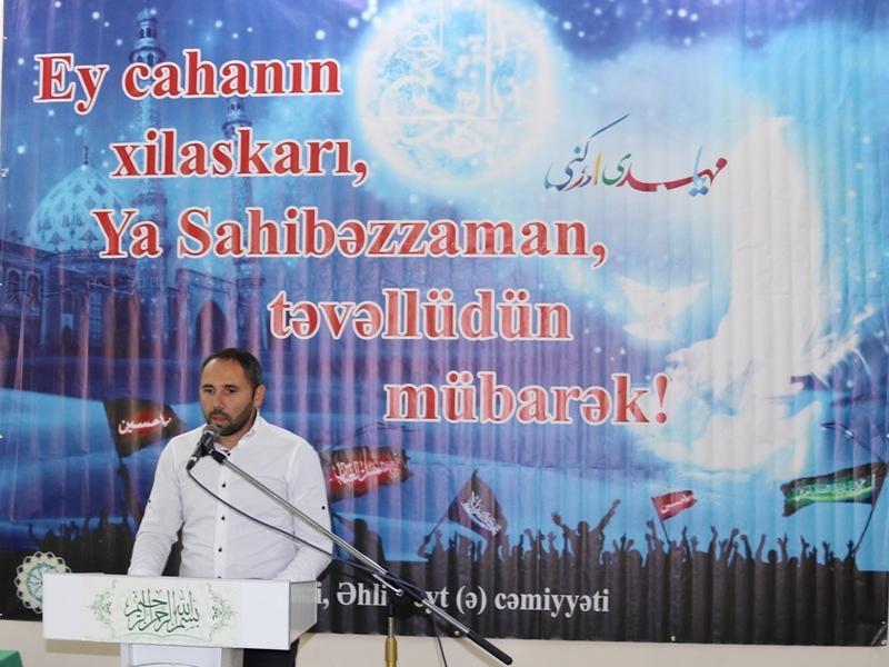 Gürcüstan Əhli-beyt (ə) cəmiyyətində İmam Zamanın (ə.f) təvəllüdü keçirildi (Foto-Video)