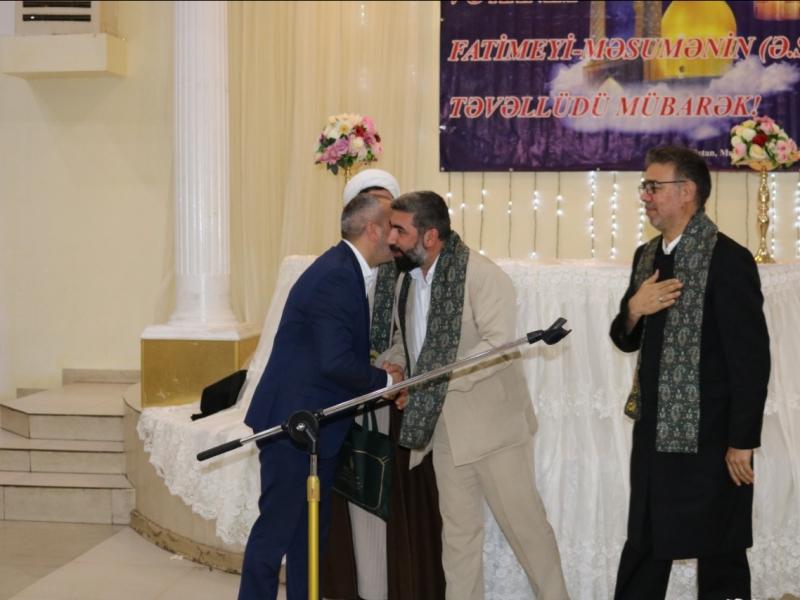 Gürcüstanda İmam Rzanın (ə) təvəllüdü münasibəti ilə möhtəşəm tədbir keçirilib (FOTO)
