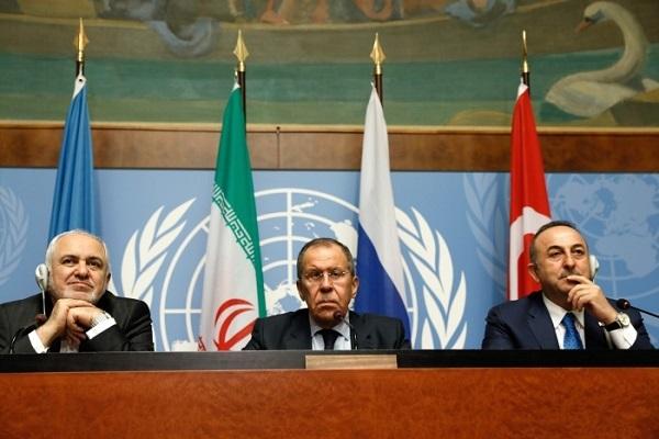 Rusiya, İran və Türkiyə Suriya ilə bağlı ortaq bir açıqlama verdilər