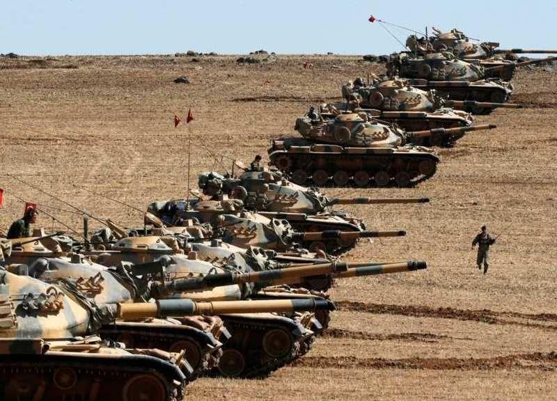 KİV: Türkiyə ordusu Suriyaya daxil olub