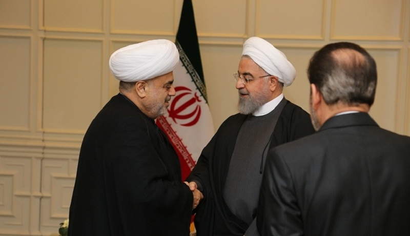QMİ sədri İran prezidentilə görüşüb