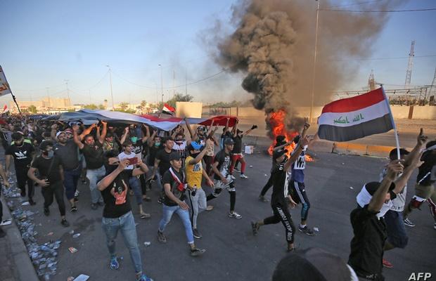 İraqdakı İran konsulluğu yenidən yandırıldı