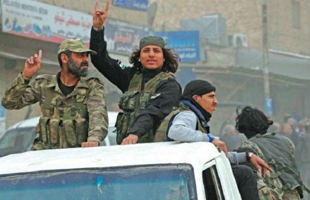 1500 terrorçu Suriyanın şimalına yerləşdirildi