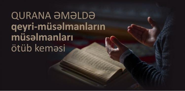 Qurana əməldə qeyri-müsəlmanların müsəlmanları ötüb keçməsi