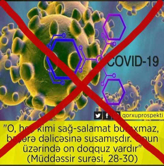 """""""Müddəssir"""" surəsinin 28-30-cu ayələri koronovirusdan bəhs etmir!"""
