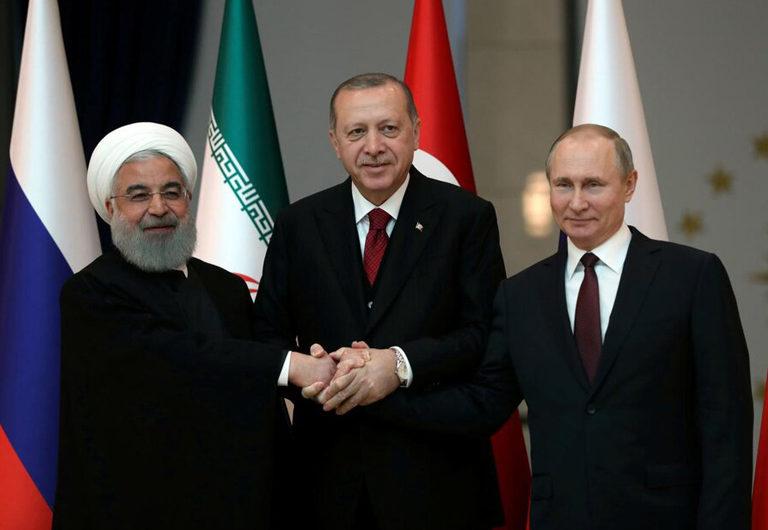 """Rusiya, İran, Türkiyə bəyanatı: """"Suriyanın neft gəlirlərinin ələ keçirilməsini qınayırıq"""""""
