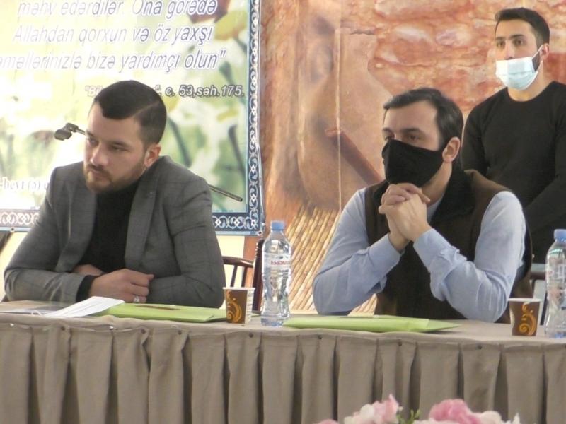 """Marneulidə """"Şəhadət, İzzət və Azadlıq"""" adlı seminar keçirilib (Foto-Video)"""