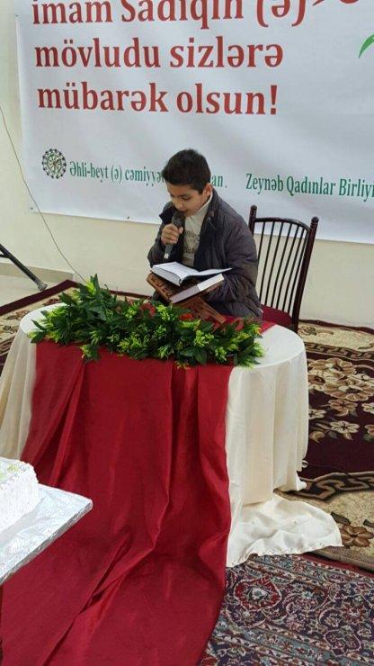 Gürcüstan Əhli-beyt (ə) cəmiyyətində Qurani-Kərimin qiraəti üzrə yarışma keçirildi (Foto-Video)