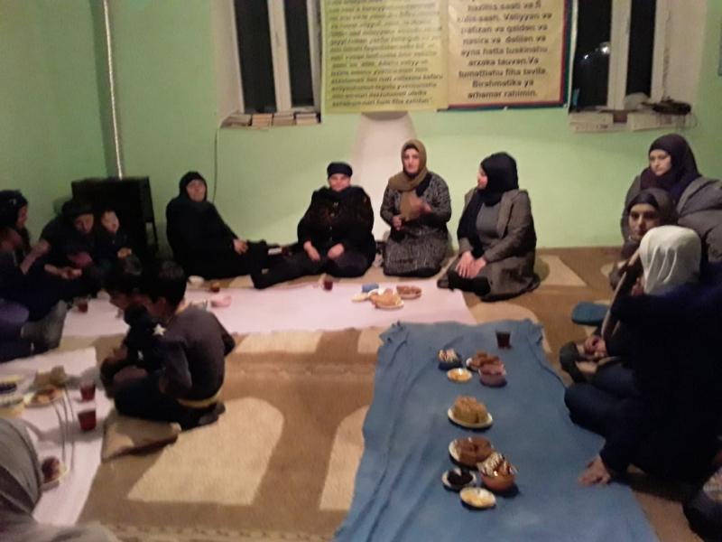 Axılı Mahmudlu kəndində xanımlar Əza saxladılar – (Foto)